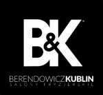 B&K salony logo biały