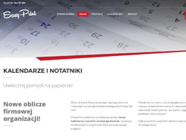 Tekst reklamowy i hasła reklamowe o kalendarzach i notatnikach