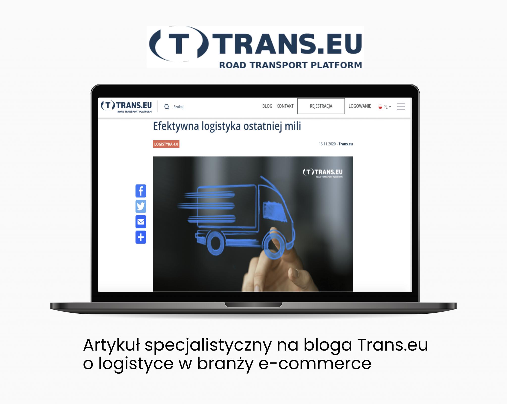 Trans.eu – art. specjalistyczny - Portfolio copywriterskie Verbal Fairy